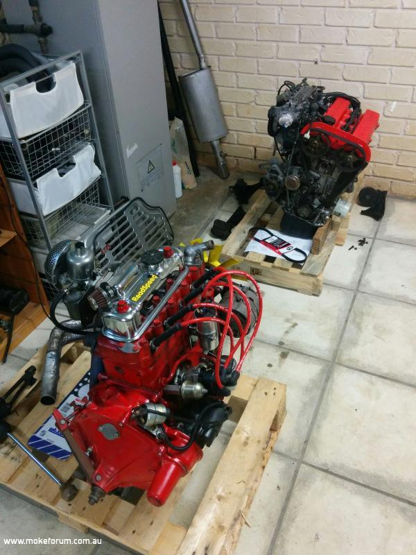 Out with the old, in with the new - Adrian's G13B conversion
